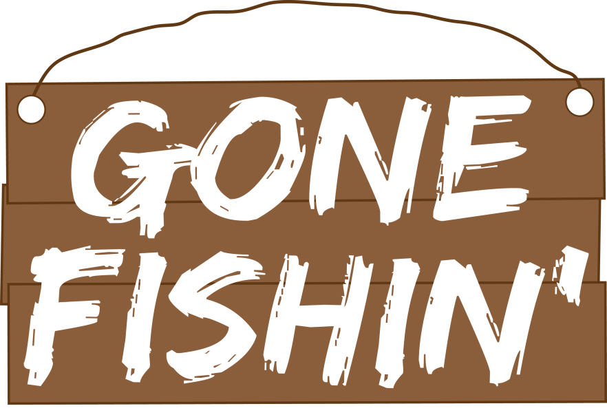 Gone fishing clipart clipart images gallery for free download.