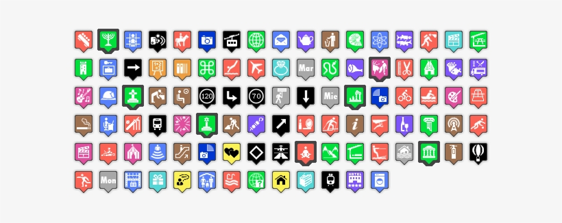 Google Map Icons Png Free.