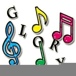 Gospel Music Clipart.