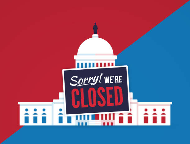 Best Government Shutdown Illustrations, Royalty.