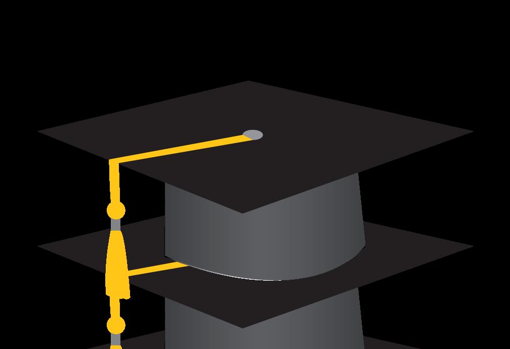 Free Graduation Cap Png Transparent, Download Free Clip Art.