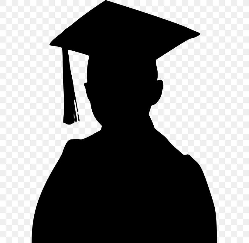 Graduation Ceremony Silhouette Graduate University Clip Art.