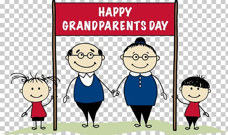 National Grandparents Day Family PNG, Clipart, Cartoon, Child.