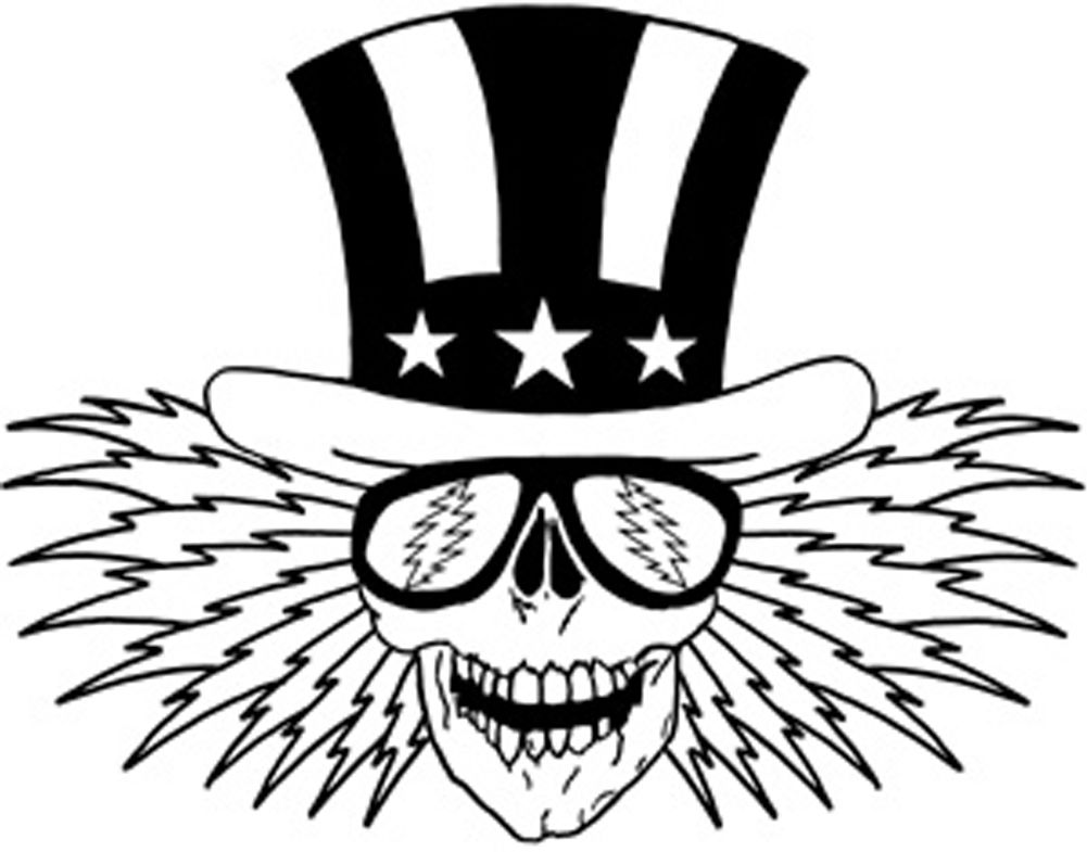 Free Grateful Dead Logo Black And White, Download Free Clip.