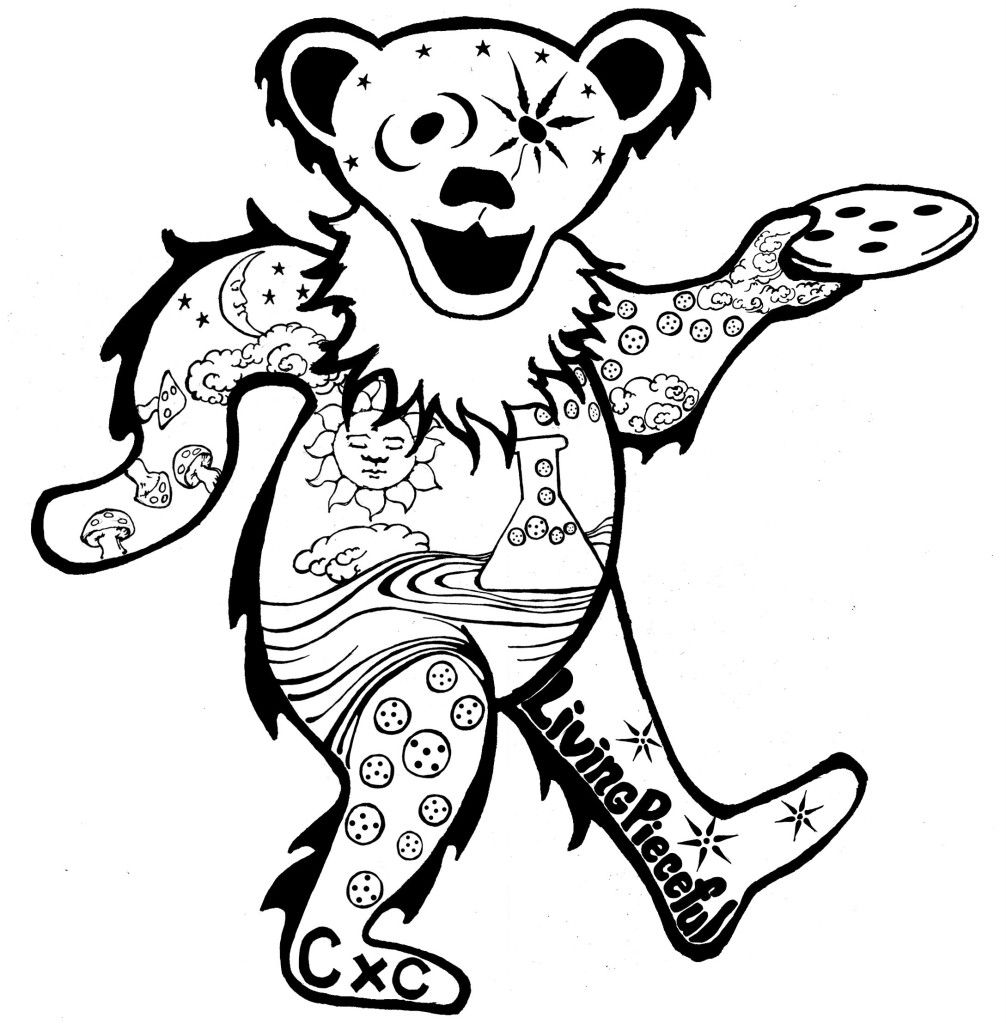 Free Grateful Dead Coloring Pages, Download Free Clip Art.