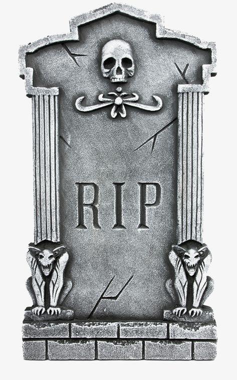 Cemetery Gravestone, Cemetery, Skeleton Bone, Buried PNG.