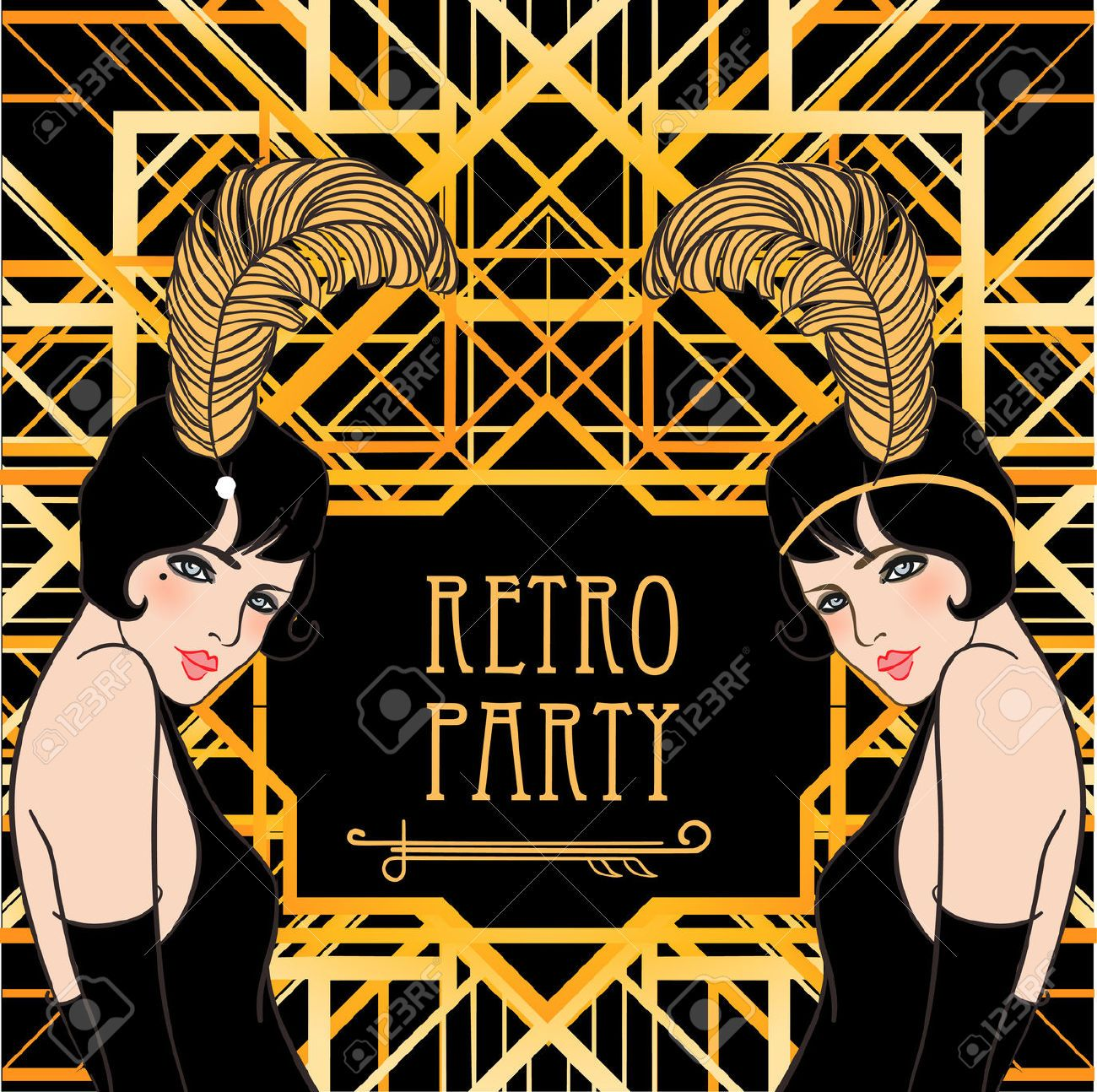 1,380 Great Gatsby Stock Illustrations, Cliparts And Royalty.