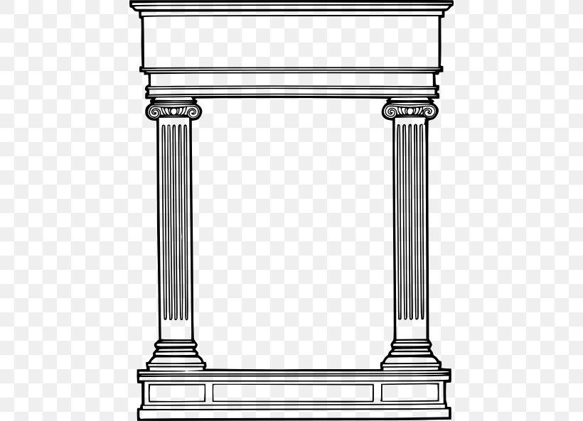 Column Classical Order Clip Art, PNG, 456x593px, Column.