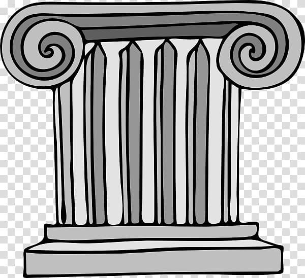 Column Free content Classical order , Cartoon Column.