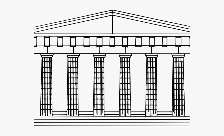 Greek Clipart Doric Column.