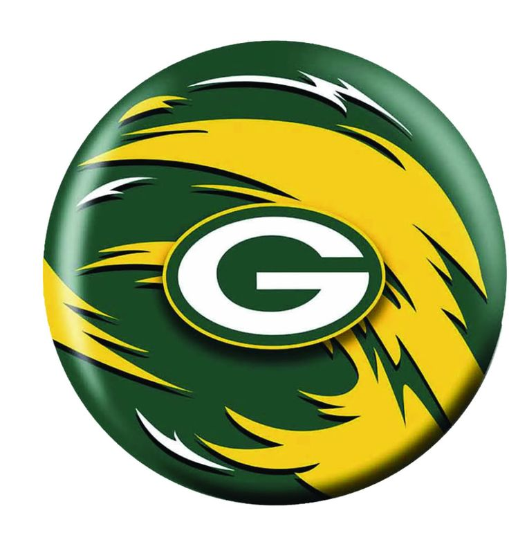Green Bay Packers Stencil Clipart.