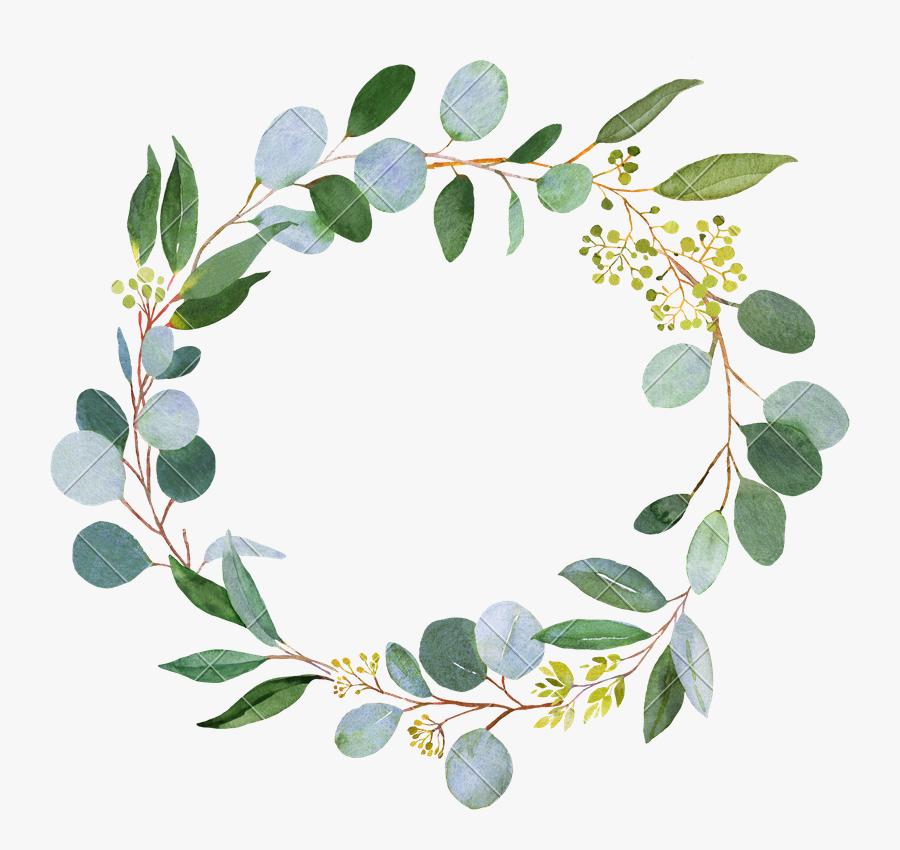 Clip Art Eucalyptus Greenery.