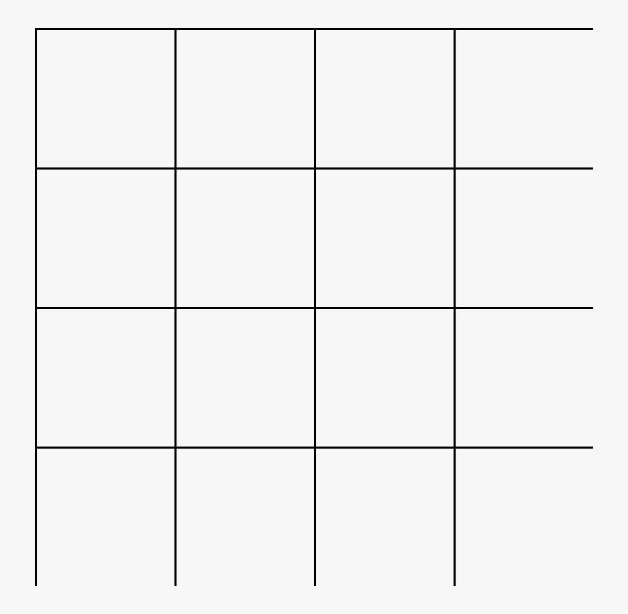 Transparent Grid Overlay Png Image.
