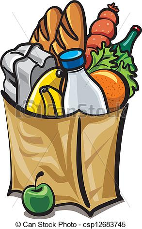 Free Grocery Bag Vector Images.