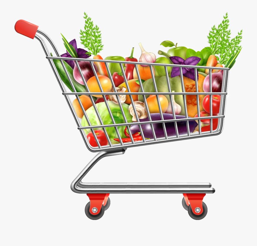 Picture Free Download Shopping Cart Vegetables Transprent.