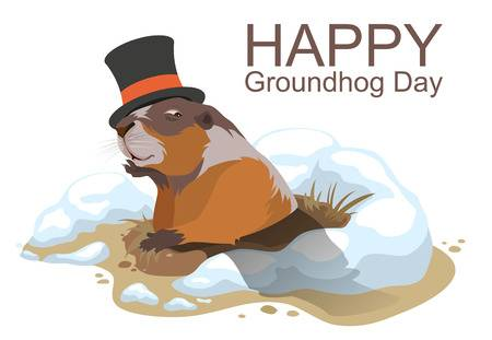 1,684 Groundhog Stock Illustrations, Cliparts And Royalty Free.