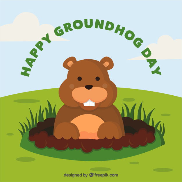 Free groundhog day clipart 3 » Clipart Station.