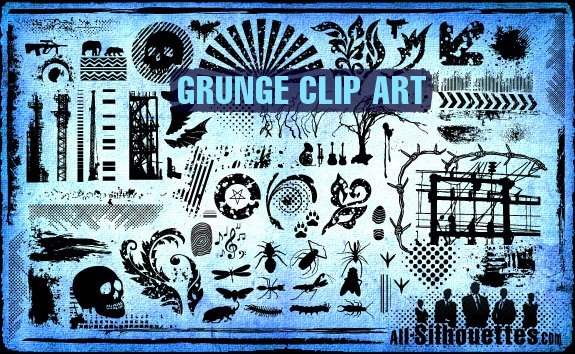 Free 100 Vector Grunge Clipart PSD files, vectors & graphics.