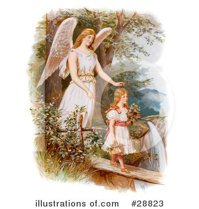 Guardian Angel Clipart #28823.
