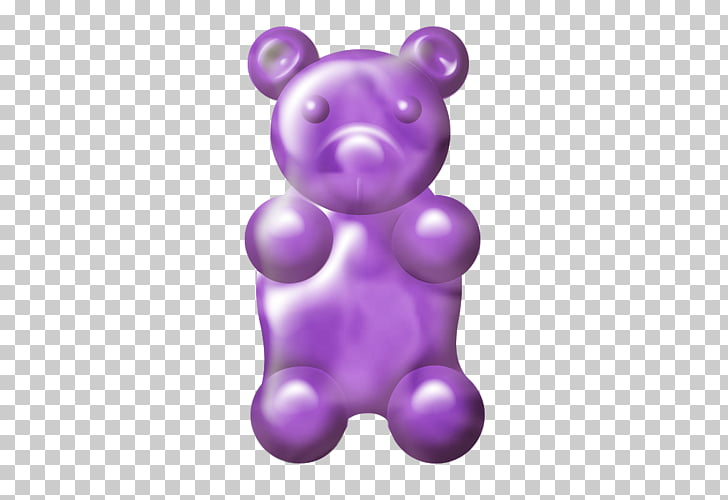 Gummy bear Gummi candy , bear PNG clipart.