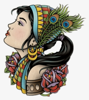 Free Gypsy Clip Art with No Background.