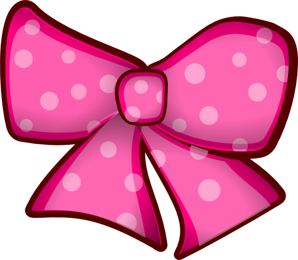 Minnie Mouse bow clip art.