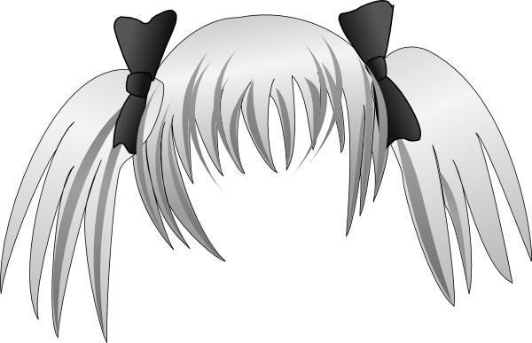 Secretlondon Manga Hair clip art Free vector in Open office.