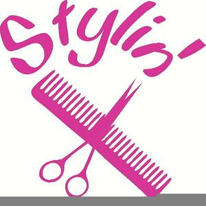 Free Hair Stylist Clipart.