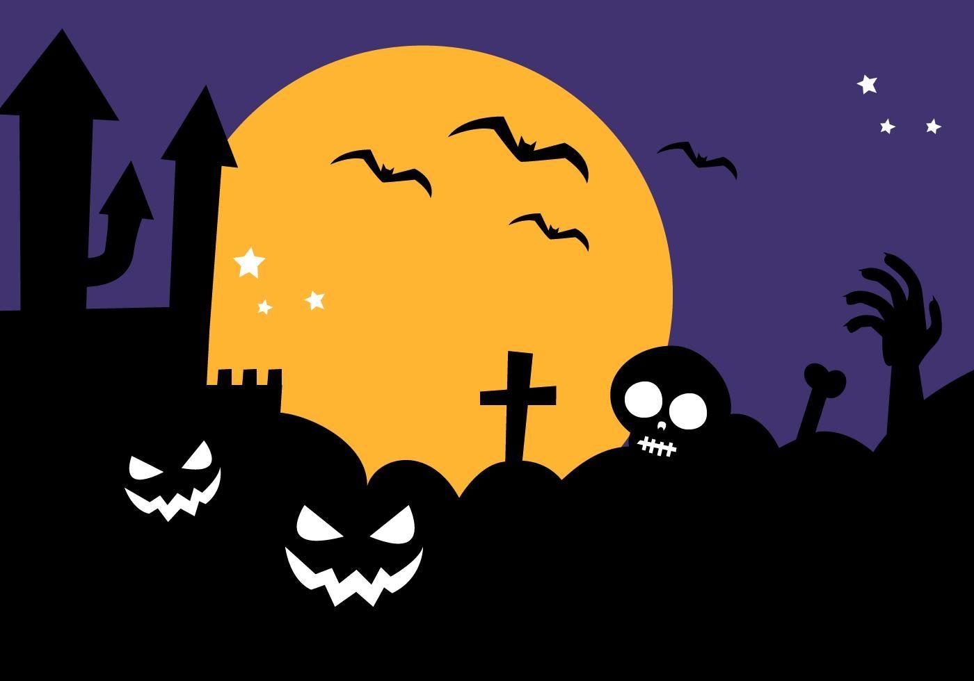 Free Halloween Background Vector in 2019.