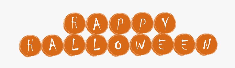 Happy Halloween Banner Clipart , Transparent Cartoon, Free.