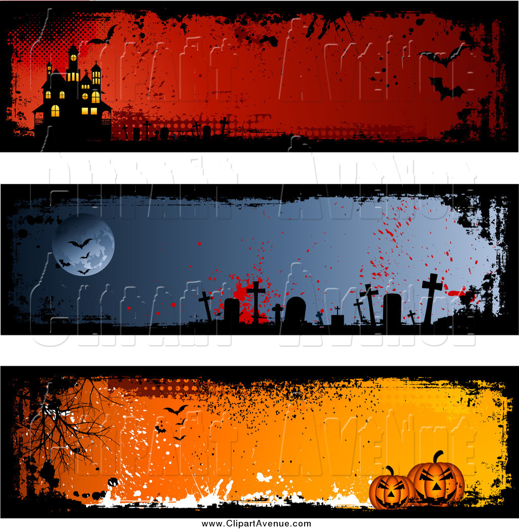 Halloween Banner Clipart Free.