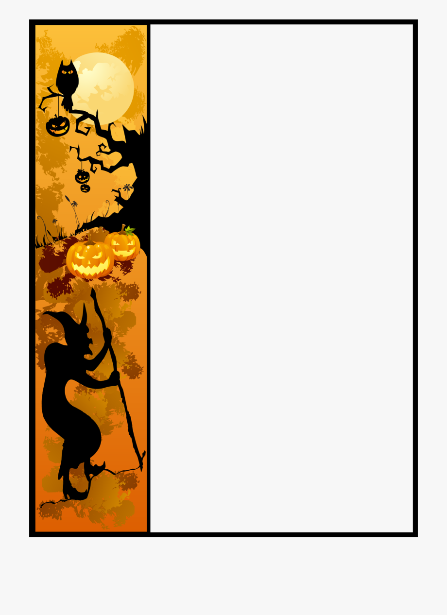 Halloween Border Clipart Free Images.