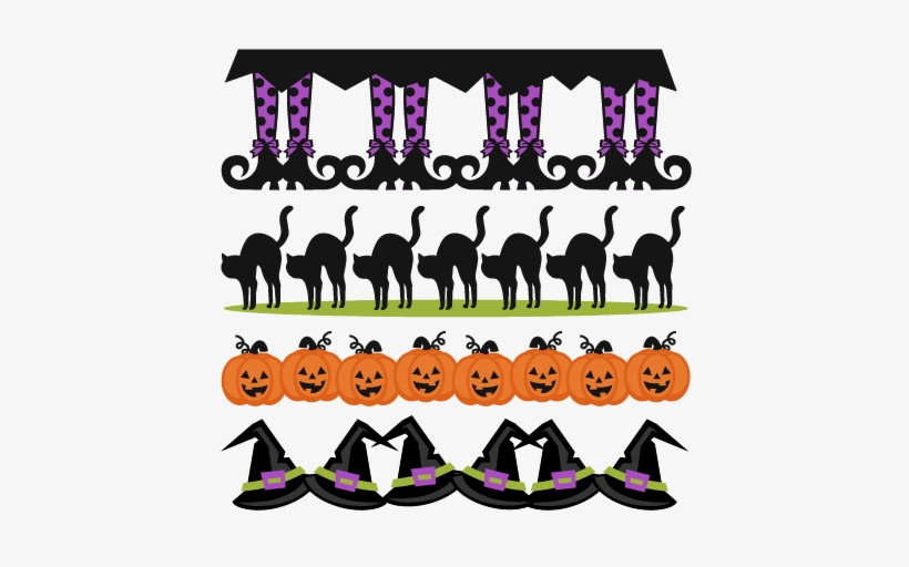 Halloween Clipart Borders Png.
