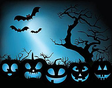 Halloween Night Clipart.