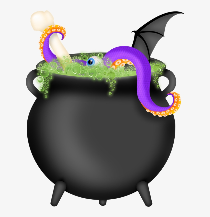 28 Collection Of Witch With Cauldron Clipart Free.