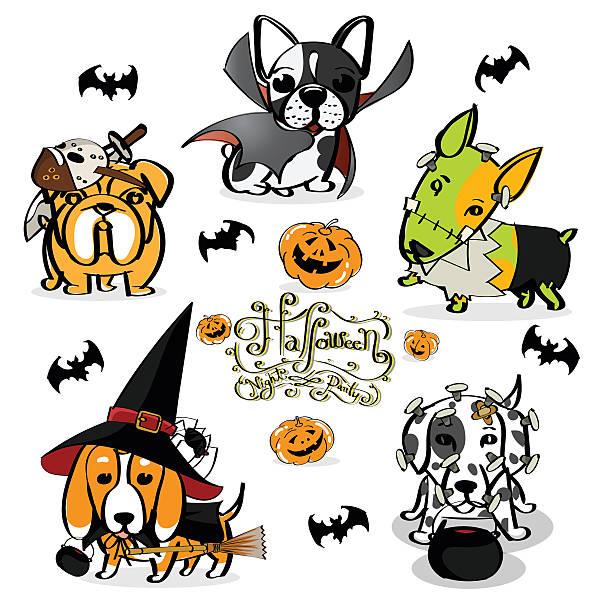 Free Halloween Dog Clipart.