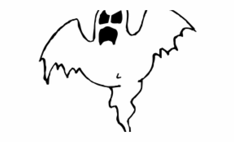 Halloween Ghost Clipart.