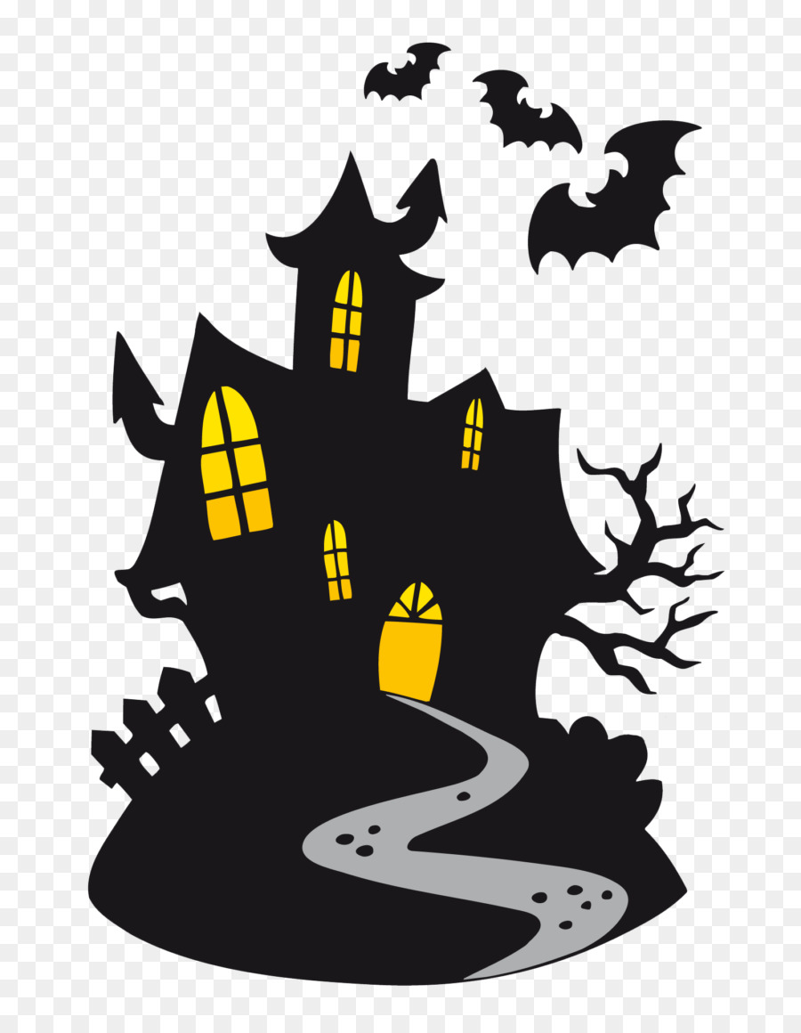 Halloween Tree Silhouette png download.
