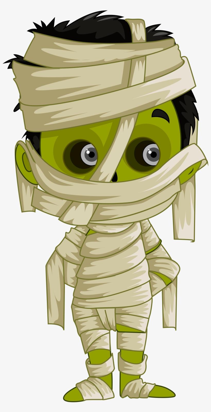 Halloween Mummy Clipart.