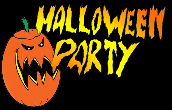 Halloween Party Clipart Free.