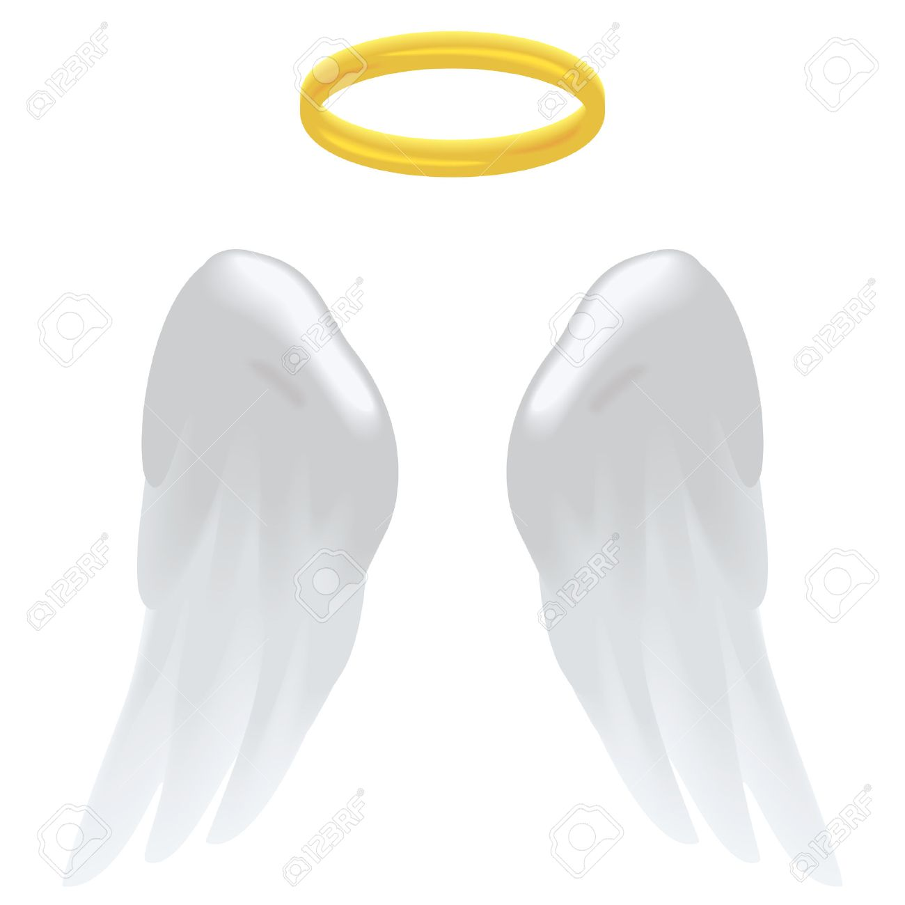 11896 Angel free clipart.