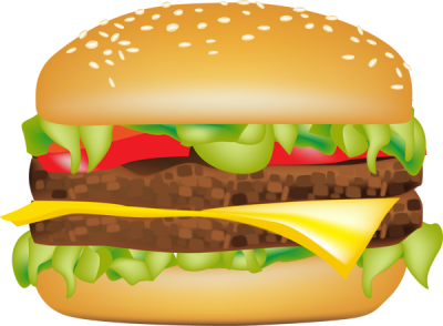 Free hamburger clipart 1 » Clipart Station.