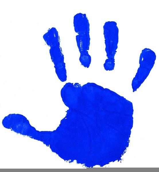 Kids Handprints Clipart.