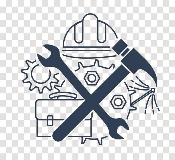 Free Handyman Logos Illustrations, Royalty.