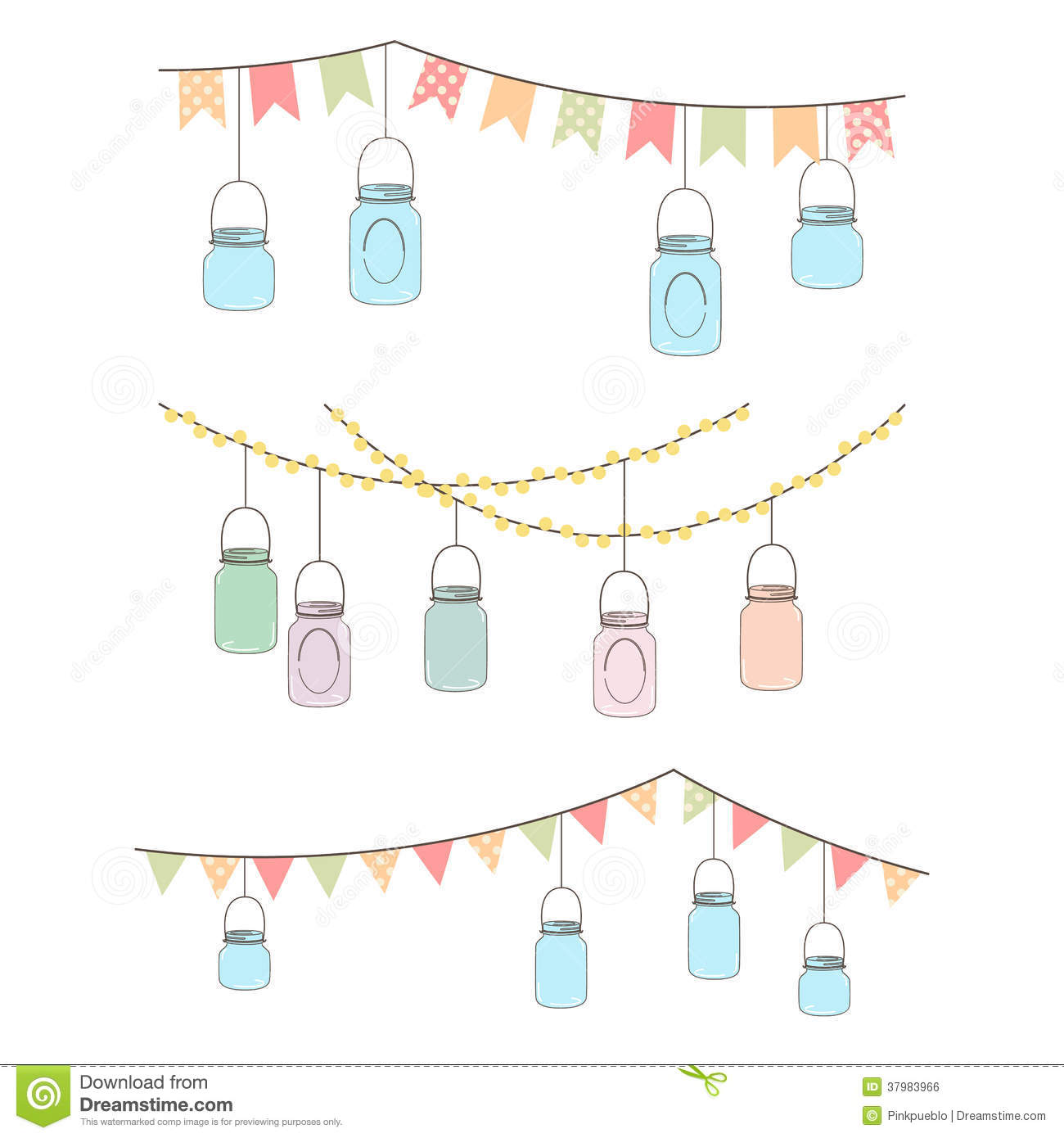 mason colouring pages. hanging mason jar clip art wedding.