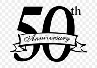 Free 50th Anniversary Clip Art.
