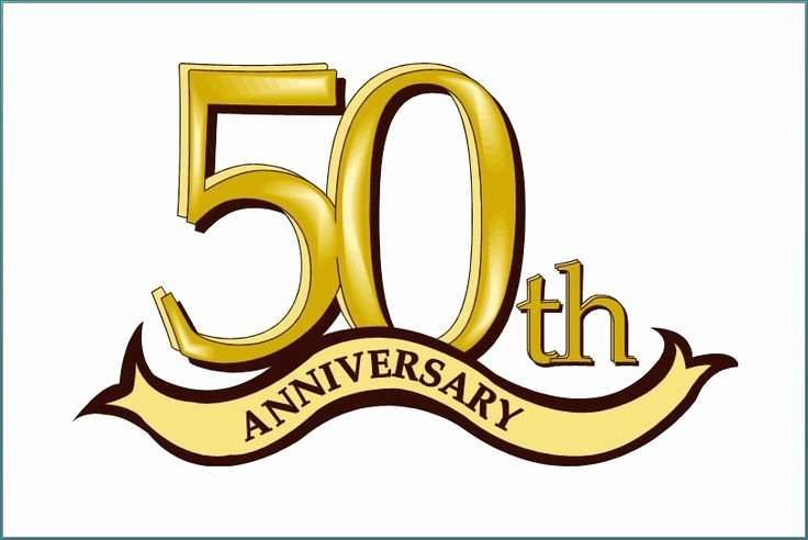 Free Happy 50th Anniversary Clip Art.