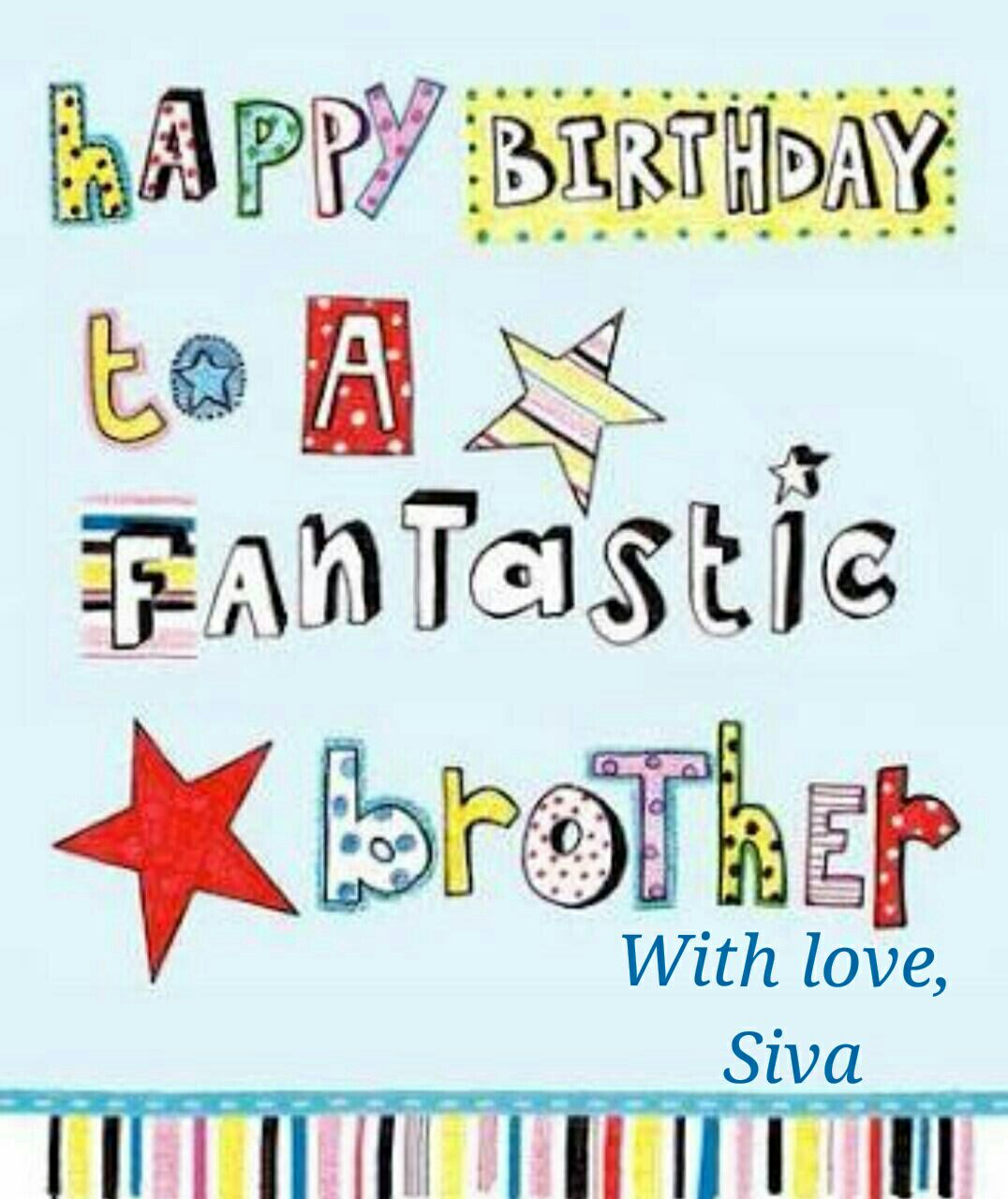 Free happy birthday brother clipart 2 » Clipart Station.