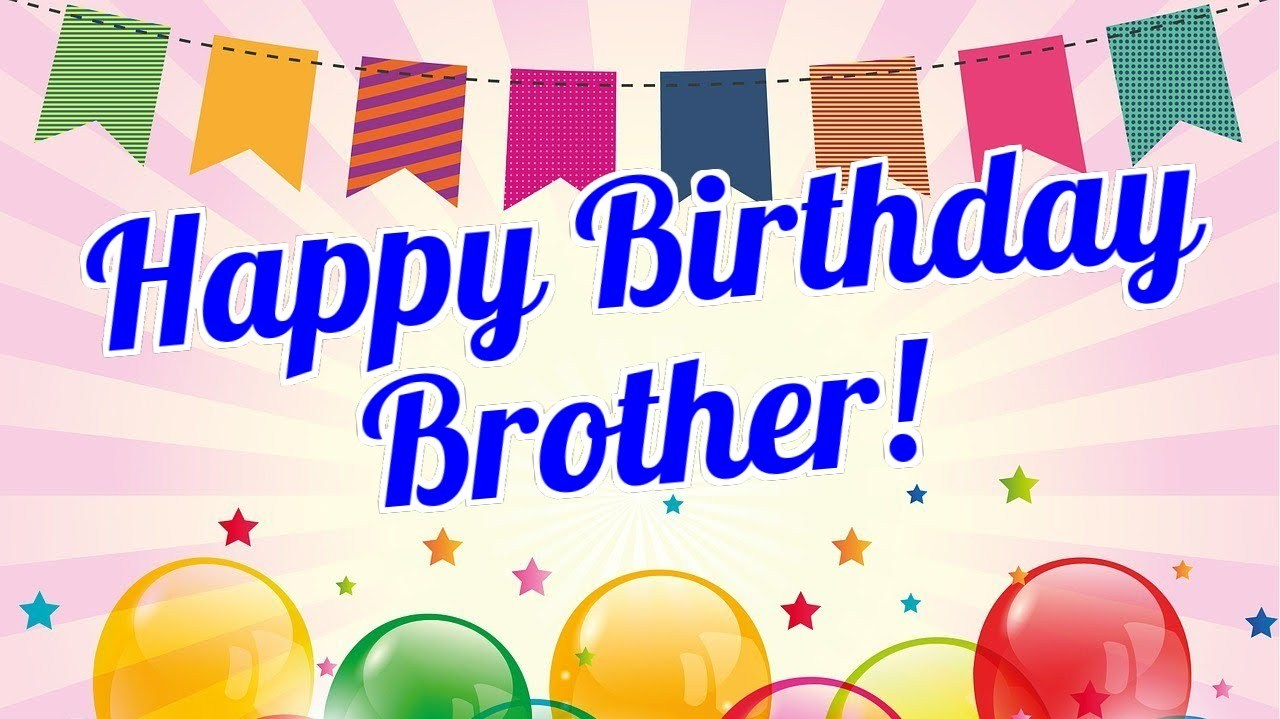 Free happy birthday brother clipart 5 » Clipart Portal.
