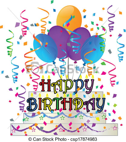 Free happy birthday clipart graphics 5 » Clipart Station.